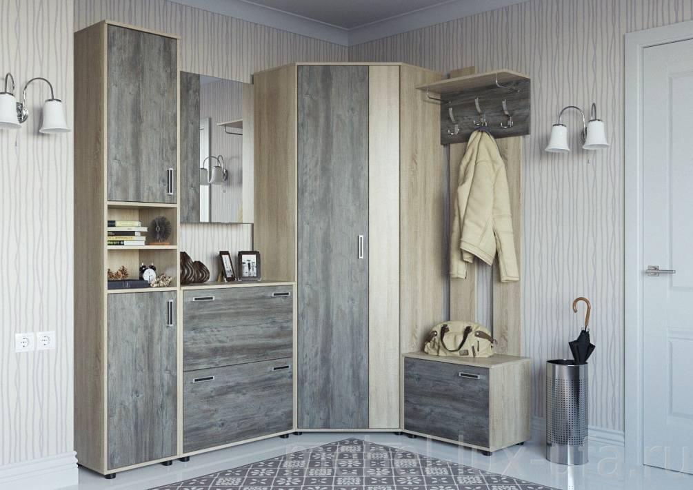 Угловая прихожая: 85 фото идей оформления современной мебель.